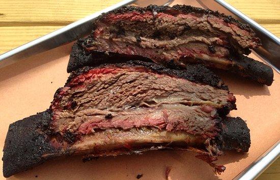 Swedesboro, Nueva Jersey: Smoked beef short rib