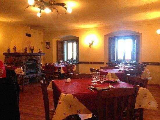 Saint-Oyen, Italia: Sala da pranzo
