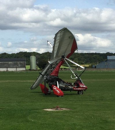 Worksop, UK: The microlight