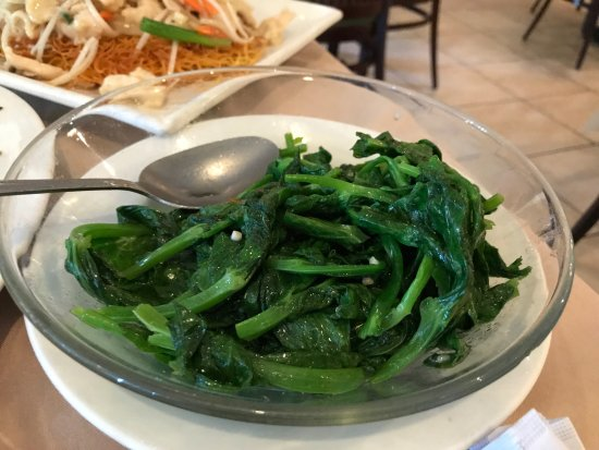Snow Pea Leaves Sautéed In Garlic
