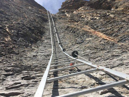 Klettersteig Leukerbad : Klettersteig geschlossen