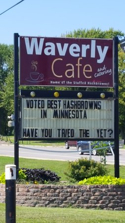 Waverly Cafe in Waverly MN right on Hwy 12