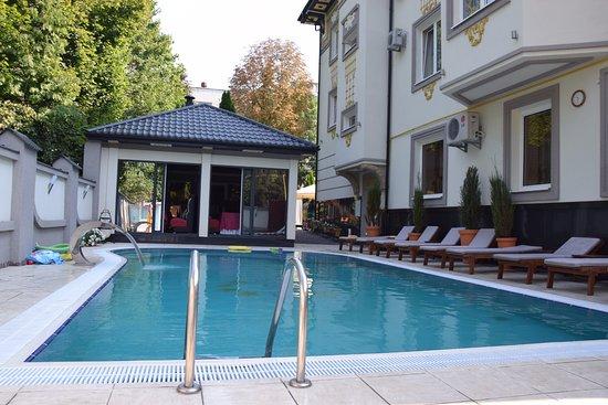 Swimming Pool Really Nice Picture Of Eney Hotel Lviv Tripadvisor