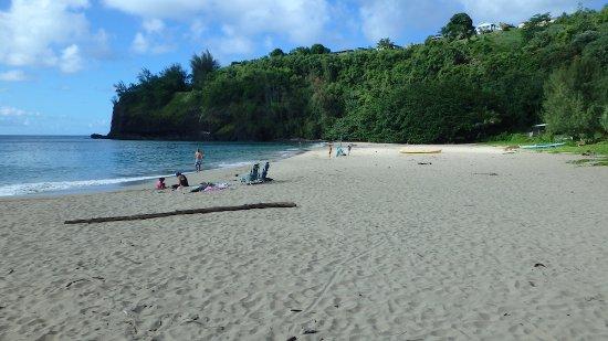 Kilauea, هاواي: the beach 