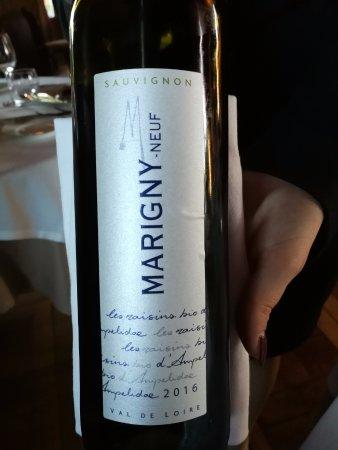 Augerville-la-Riviere, Francja: Menu wine