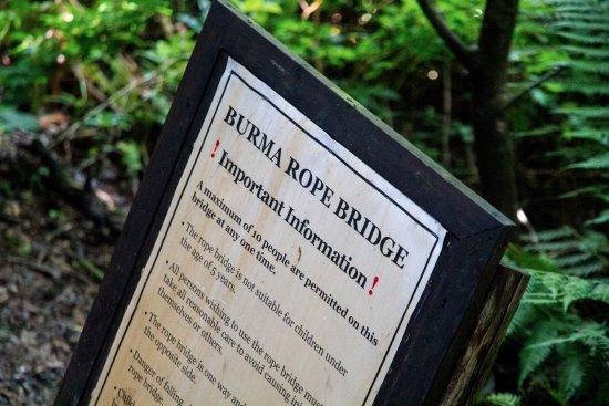 St Austell, UK: Burma Rope Bridge