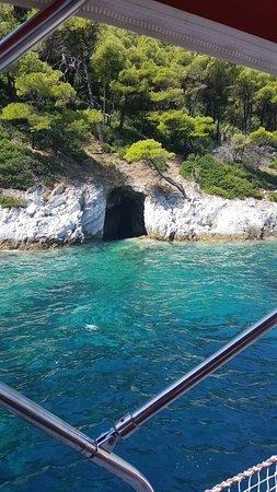 Ciudad de Skiathos, Grecia: tuffo e snorkelling nella grotta