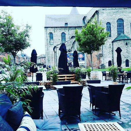 Nivelles, Belgium: Salon terrasse