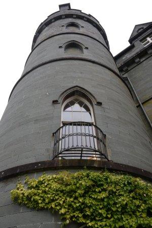 Inveraray, UK: Ready to climb the tower