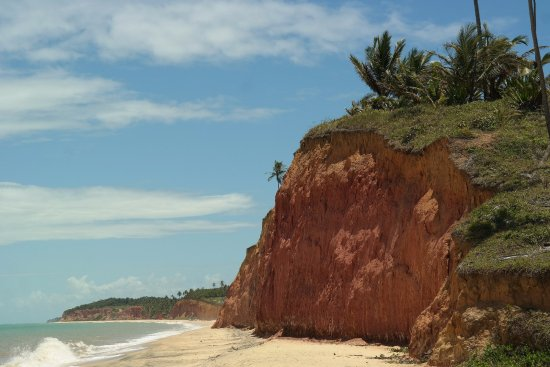 Japara Mirim Beach: Falésias
