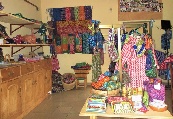 Kpalime, Togo: Here you can see a part of the lovely Boutique