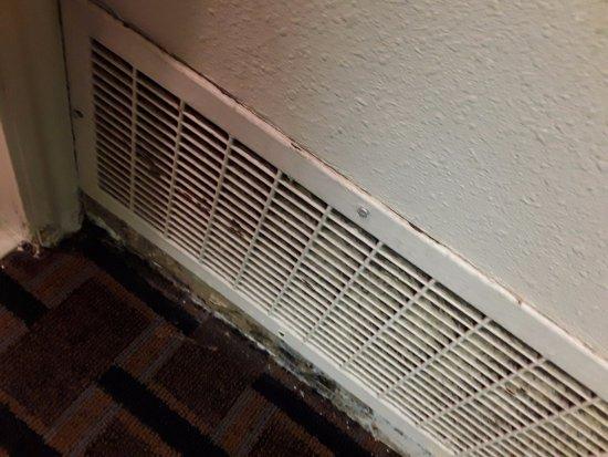 Royal Garden Inn: Ventilation Panel By Floor