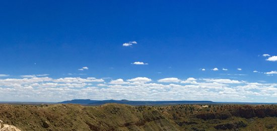 Winslow, AZ : It is really hard for a photo to do this justice but this is with an iPhone.