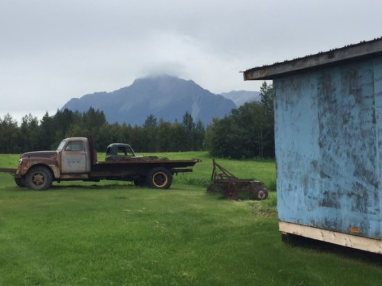 Palmer, AK: AK farming is a bit different than the midwest, look at Pioneer Peak.