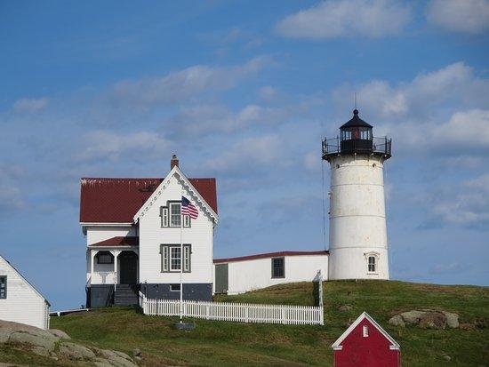 Cape Neddick, ME: Nubble lighthouse