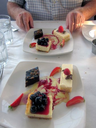 Fort Washington, PA: Dessert offering with Three-Course Meal