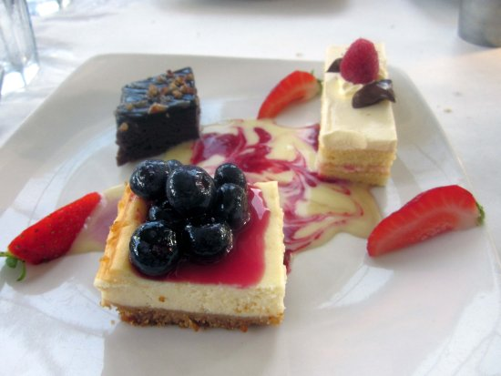 Fort Washington, PA: Close-up - Three-course Meal Dessert
