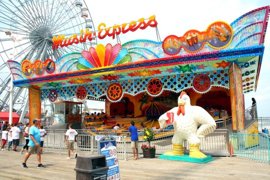 c23e6375f6 Music Express - Picture of Casino Pier   Breakwater Beach Waterpark ...