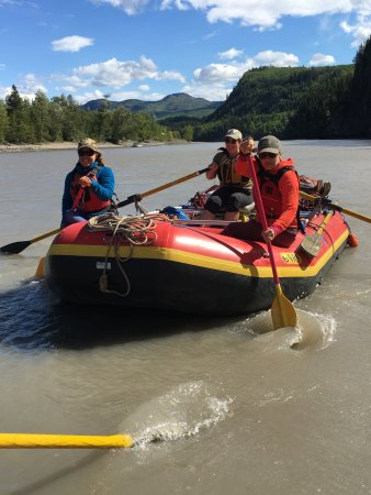 Telegraph Creek, แคนาดา: Great trip on the Stikine thanks Hyland B&B