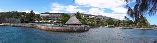 Manava Suite Resort Tahiti: From the pier