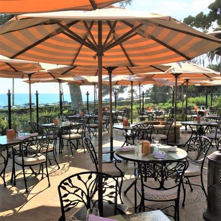 Four Seasons Resort The Biltmore Santa Barbara Outdoor Dining At Ty Lounge Bella Vista