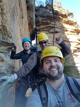 High 'n Wild Mountain Adventures: Tourists and our guide