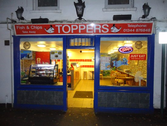 Toppers Fish Chips Sunningdale Menu Prices