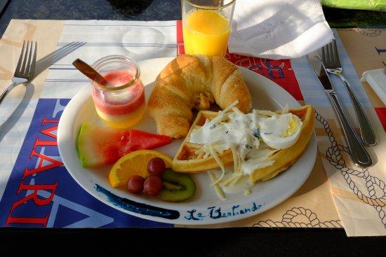 Saint-Simeon, Canadá: Breakfast, very delicious