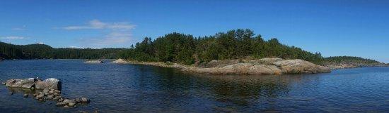 Nordingra, Zweden: La spiaggia