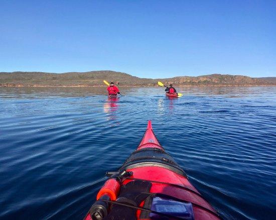 Iqaluit, Kanada: Heading back towards the coast