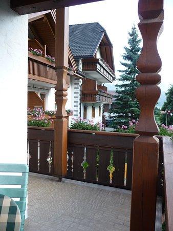 Il Balcone Vista Al Giardino Foto Di Appartamenti Residence