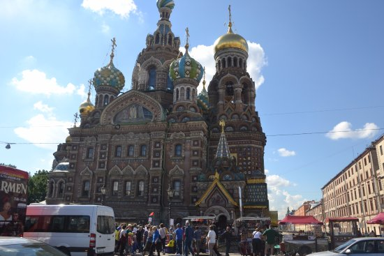 Alla Tours : The Church of Our Savior on the Spilled Blood