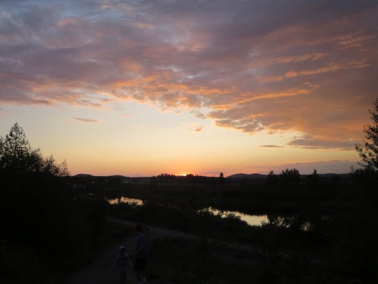 Granite Town Hotel: The sunset in St. George