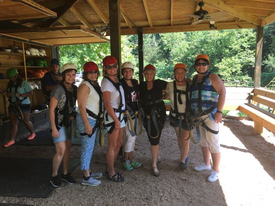 Lake Lure, Βόρεια Καρολίνα: We had a blast at Canopy Ridge Farm during our girls getaway weekend!