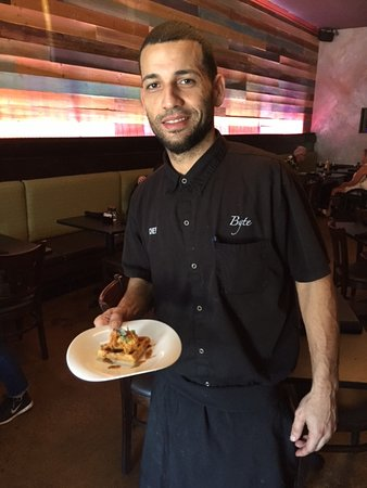 DeLand, FL: The Byte Bistro's very creative and talented Chef.