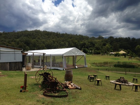 Wollombi, Australia: Outside Cow Shed