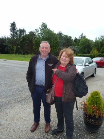 Donegal Town, Ireland: Michael and his wife Marie were so helpful and really made our visit special.