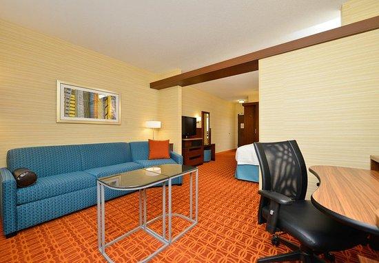 Horseheads, Νέα Υόρκη: Suite Living Area