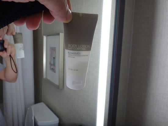 Hyatt Regency San Antonio: Half used lotion!!!