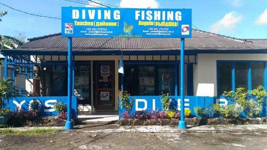 Tanjung Benoa, Indonesia: YOS Dive Bali's home base in Nusa Dua, Bali, Indonesia