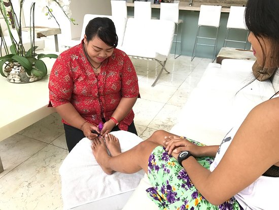 Kerobokan, Indonesia: Pedicure