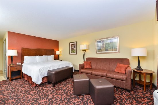 Yorkville, IL: King Accessible Suite