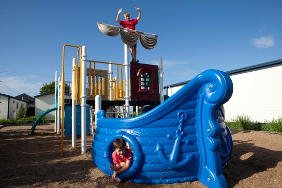 Playground at Blacksmiths Beachside