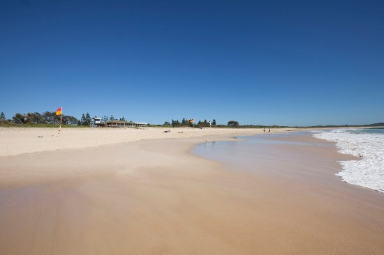 Right on our doorstep you will find beautiful Blacksmiths Beach