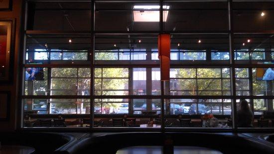 Cupertino, CA: looking toward parking lot