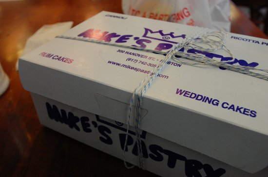 Mike's Pastry box