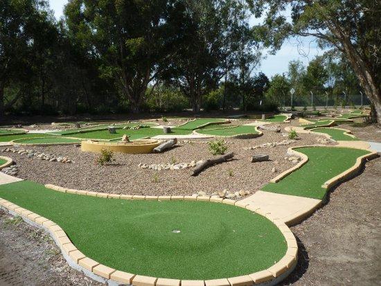 Swansea, Αυστραλία: Mini golf course