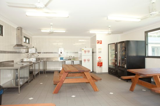 Swansea, Australia: Camp kitchen