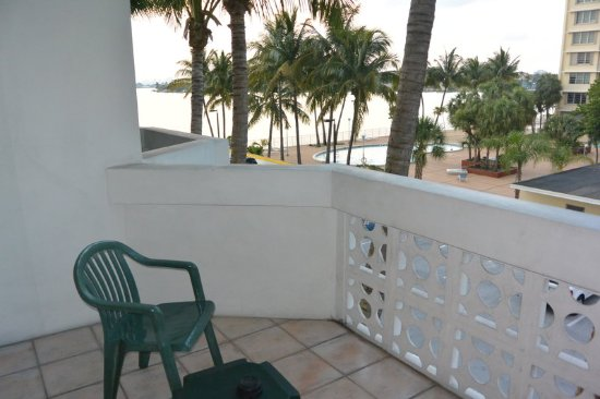 North Bay Village, FL: View from King/Two Queen Balcony