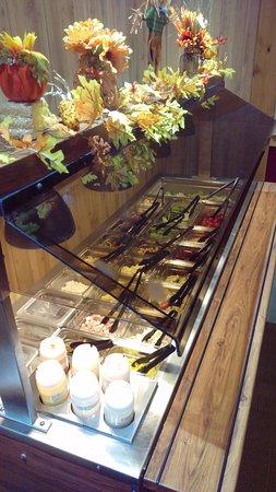 Tamaqua, Pensylwania: Salad bar